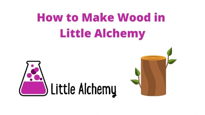 how to make wood in Little Alchemy